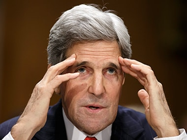 Kerry heading to Russia for talks on Syria, Ukraine after Brussels attack