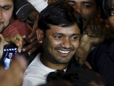 JNUSU leader Kanhaiya Kumar. Reuters