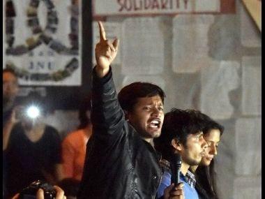 Kanhaiya Kumar. PTI