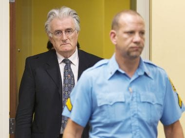Karadzic, 'many-faced' Serb accused of Bosnian war horrors to face trial at The Hague