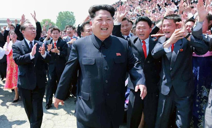 Kim Jong-Un. AFP
