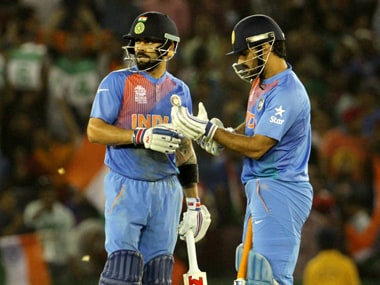 MS Dhoni says Virat Kohli will make a good captain for India in all three formats