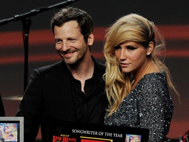 Dr. Luke, seen here with Kesha Rose. Image from Getty