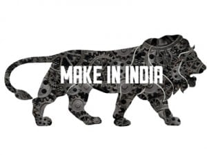 Make In India logo. IBNLive