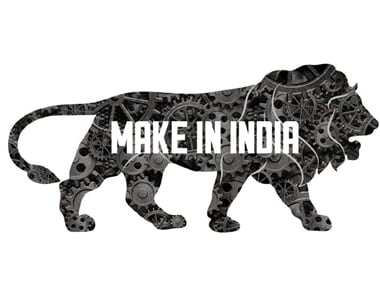 File image of the Make In India logo. Image courtesy: IBNLive