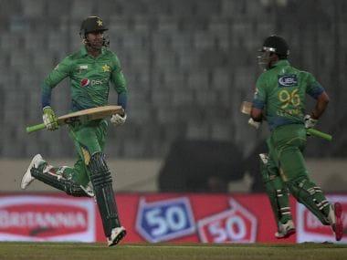 Some sensible batting from Umar Akmal and Shoaib Malik saved Pakistan. PTI