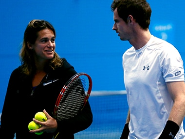 Andy Murray came out in support of Amelie Mauresmo. Reuters