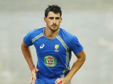 On the comeback trail: Mitchell Starc recalled to Australia squad for West Indies ODI tri-series