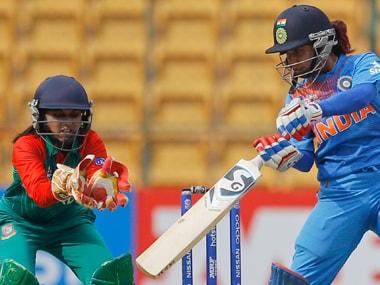 Mithali Raj vs Bangladesh. AP