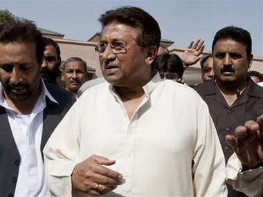 Musharraf was summoned in a treason case. AP