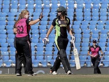Womens World T20: Kasperek spins New Zealand to six-wicket win over Australia