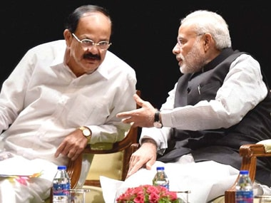 If Modi is the man he says he is, he should throw out Venkaiah Naidu for his cringing sycophancy