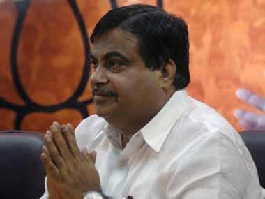 Nitin Gadkari. AFP