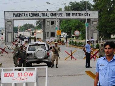 Pakistan Air Force Base Attack. AFP
