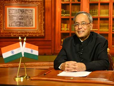 India committed to friendly ties with Pakistan, says President Mukherjee