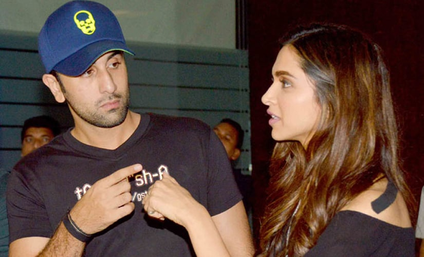 Ranbir and Deepika worked together in Jab We Met and Tamasha after they split. Images from IBNlive
