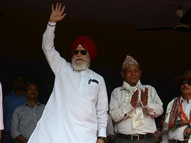 S S Ahluwalia. AFP