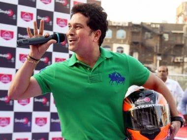 Sky Karting track inaugurated by big motor sport fan Sachin Tendulkar in Mumbai