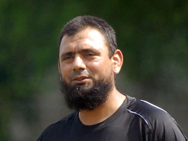 File photo of Saqlain Mushtaq. Reuters