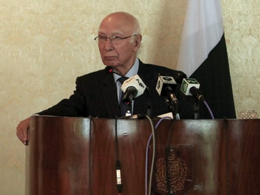 Madrasas in North Waziristan have become hub of terror activities: Sartaj Aziz