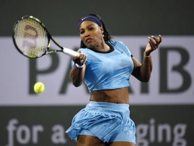Indian Wells: Serena Williams ousts defending champ Halep, sets up clash with Radwanska