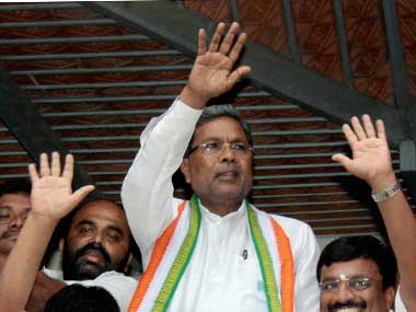 Karnataka CM Siddaramaiah. File photo. PTI