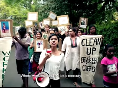 A screenshot from Sofia Ashraf's video. Image courtesy: Youtube