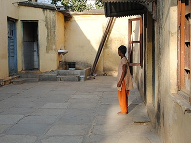Sunitha at the shelter home. Rahul Pandita/Firstpost