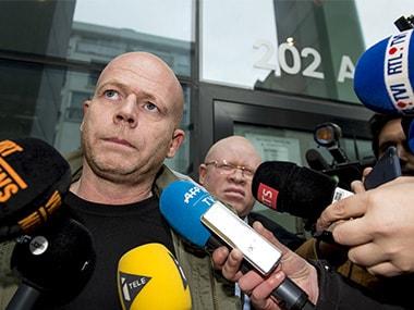 Sven Mary, lawyer of Paris attacks suspect Salah Abdeslam. Reuters