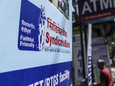 Syndicate Bank. Getty image.