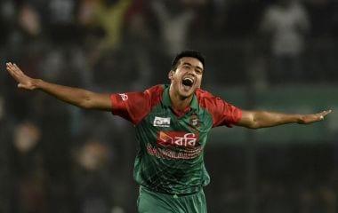 Bangladesh pacer Taskin Ahmed. AFP