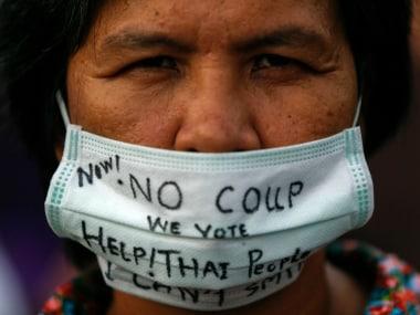 Thai ex-premier says ruling junta is pushing for backward democracy