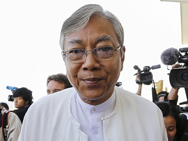 File image of Htin Kyaw. Reuters