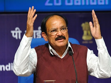 Gods gift to India: Venkaiah Naidu has some high praise for PM Modi