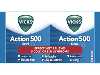 P&G stops sale of Vicks Action 500 Extra after govt ban