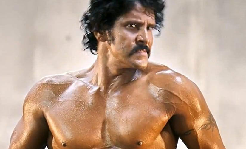 Vikram in Shankar's I. Screen grab from YouTube
