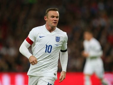 File photo of Wayne Rooney of England. Getty Images