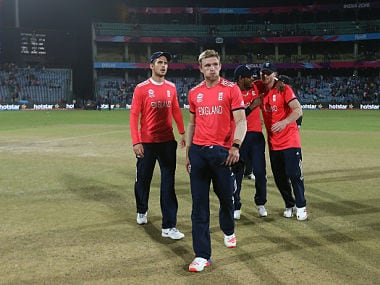 England's David Willey during the game against Sri Lanka. GettyImages