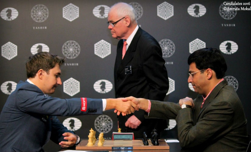 Candidates Chess: Anand goes down to Karjakin, loses India No 1 ranking after three decades