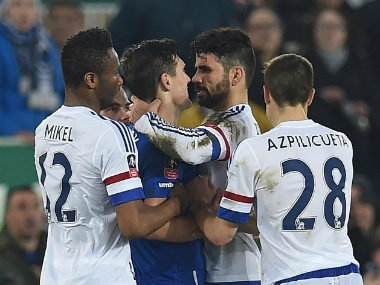 Doing a Suarez? Costa denies biting Barry during Everton-Chelsea FA Cup clash