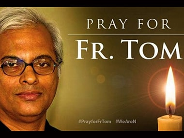 Father Tom who was abducted by the Islamic State.