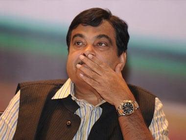 Nitin Gadkari. File photo. AFP