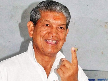 File picture of Harish Rawat. PTI