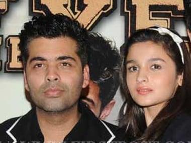 After Kapoor And Sons, Karan Johar says hes proud of protégée Alia Bhat