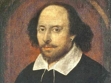 File photo of William Shakespeare. Getty images