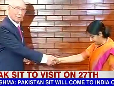 Swaraj-Aziz meet paves way for Pakistani team to probe Pathankot bloodbath