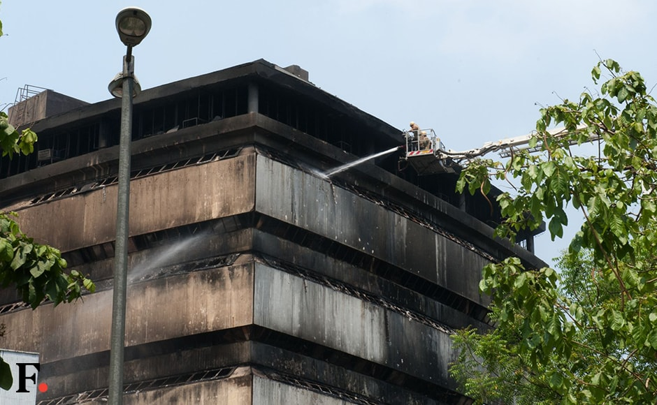 FICCI said the cause of the fire is being investigated and thanked the Delhi Fire Service for its quick response in bringing the situation under control. Naresh Sharma/Firstpost