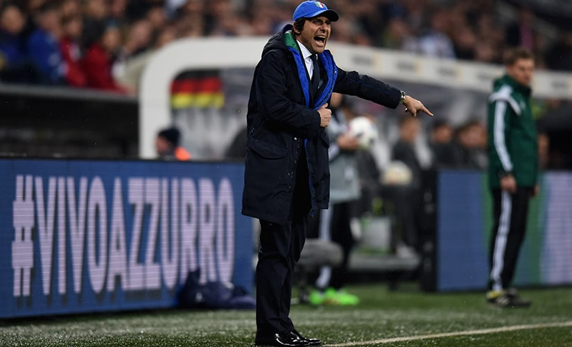 Conte is known to be a mercurial, stubborn coach. Getty Images