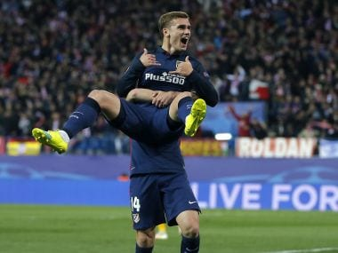 Antoine Griezmann was the star for Atletico. AP