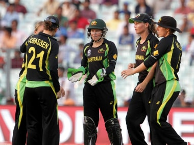 File photo of the Australian women's cricket team. Solaris Images